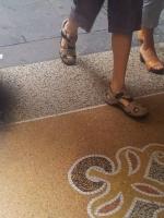 zoccoli tacco-Plateaux profondo estate 2014 beje